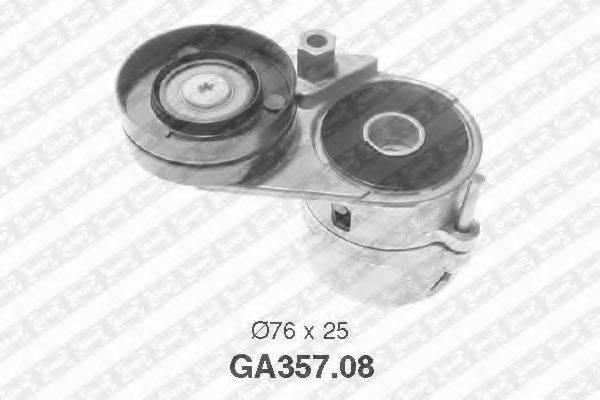 SNR GA35708 Натяжной ролик, поликлиновой  ремень