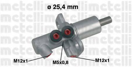 METELLI 050458 ГТЦ (главный тормозной цилиндр)