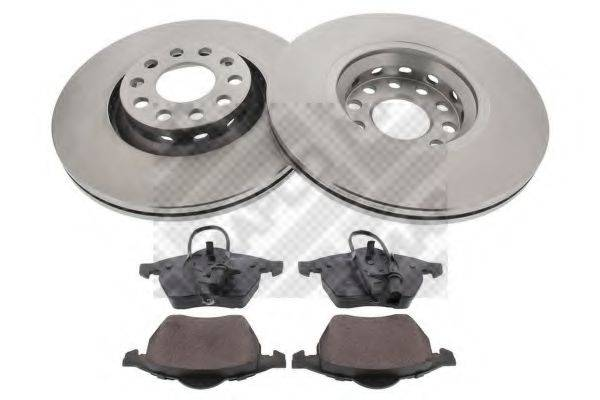 MAPCO 47899 Комплект тормозов, дисковый тормозной механизм