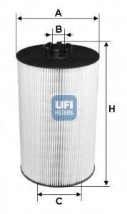 UFI 2501900 Масляный фильтр двигателя