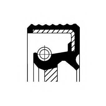 CORTECO 12010739B Уплотняющее кольцо, коленчатый вал; Уплотняющее кольцо, промежуточный вал; Уплотняющее кольцо вала, масляный насос; Уплотнительное кольцо вала, приводной вал (масляный насос)