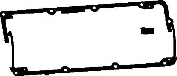 CORTECO 026682P Прокладка крышки клапанов