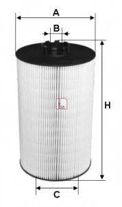 SOFIMA S5019PE Масляный фильтр двигателя
