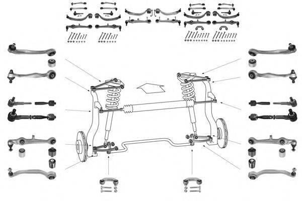 MEYLE WG0339501A Рулевое управление; Подвеска колеса