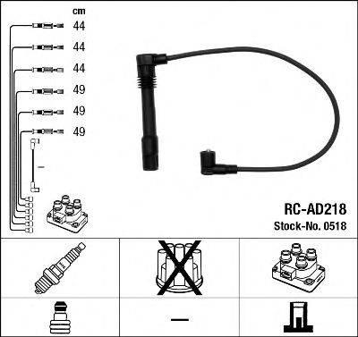 NGK 0518 Провода зажигания