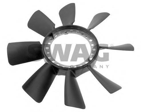 SWAG 30934466 Крыльчатка вентилятора (охлаждение двигателя)