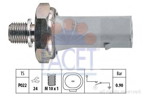 FACET 70134 Датчик давления масла