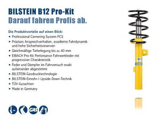 BILSTEIN BIL015764 Комплект ходовой части, пружины / амортизаторы