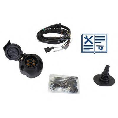 RAMEDER 107019 Комплект электрики, прицепное оборудование