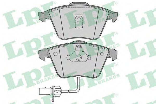 LPR 05P1230 Колодки тормозные