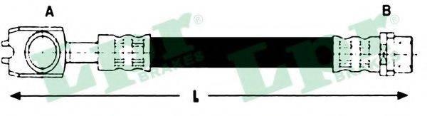 LPR 6T46784 Шланг тормозной