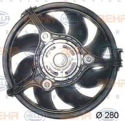 HELLA 8EW351044131 Вентилятор (охлаждение двигателя)