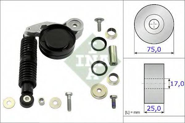 INA 533011810 ремонтный комплект, рычаг натяжки поликлинового ремня