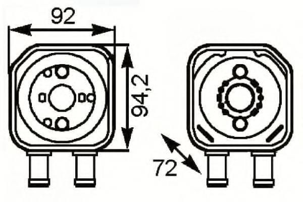 NRF 31179 Радиатор масляный