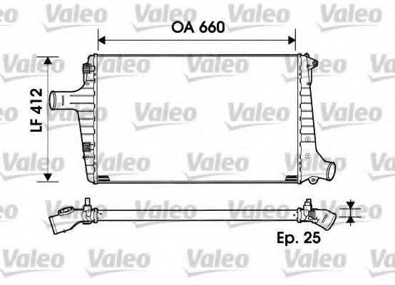 VALEO 817865 Охладитель наддувочного воздуха