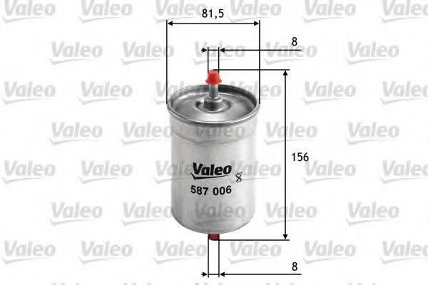 VALEO 587006 Фильтр топливный