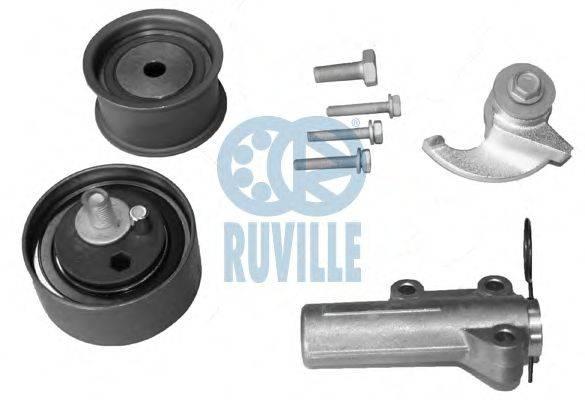 RUVILLE 5549051 Комплект роликов, зубчатый ремень