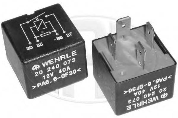 ERA 661022 Реле, продольный наклон шкворня вентилятора