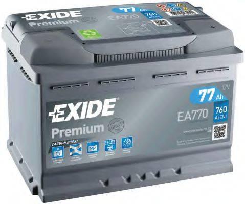 EXIDE EA770 АКБ (стартерная батарея)