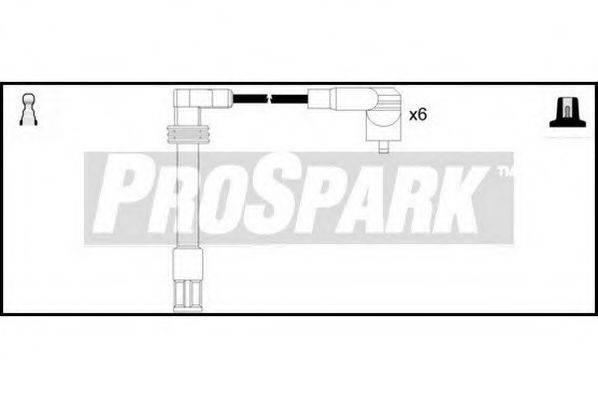 STANDARD OES801 Провода зажигания