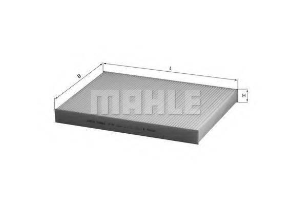 MAHLE ORIGINAL LA93 Фильтр салона