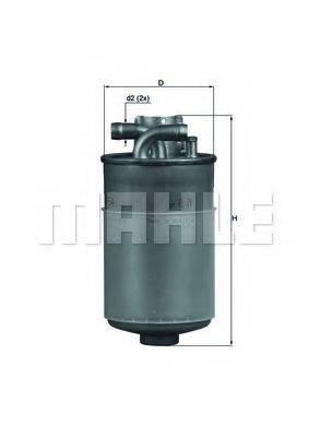 MAHLE ORIGINAL KL154 Фильтр топливный