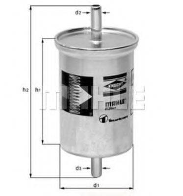 MAHLE ORIGINAL KL2 Фильтр топливный