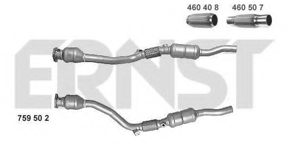 ERNST 759502 Преобразователь отработавших газов