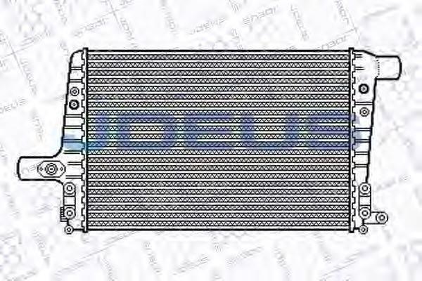 JDEUS 801M16 Охладитель наддувочного воздуха