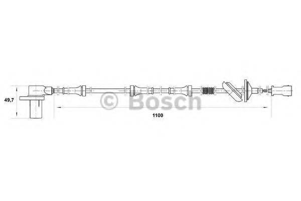BOSCH 0265006584 Датчик ABS