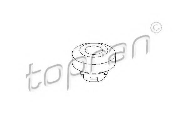 TOPRAN 108029 Подвеска, радиатор