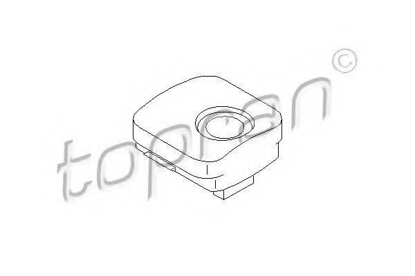 TOPRAN 108028 Подвеска, радиатор