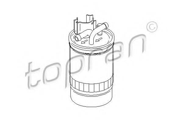 TOPRAN 109048 Фильтр топливный