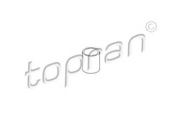 TOPRAN 111545 Патрубок интеркулера турбины