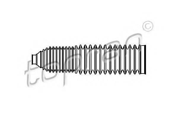 TOPRAN 110172 Пыльник рулевой рейки