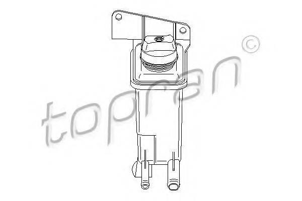 TOPRAN 110689 Компенсационный бак, гидравлического масла услителя руля