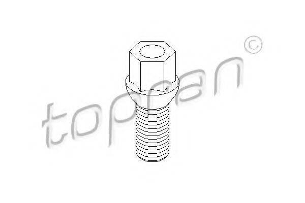 TOPRAN 111477 Болт крепления колеса