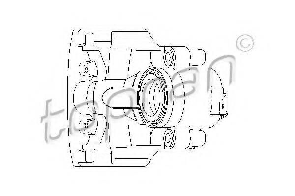 TOPRAN 110288 Суппорт тормозной системы