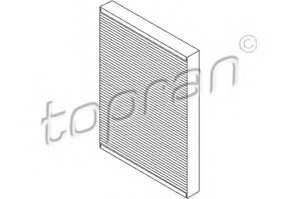 TOPRAN 109106 Фильтр салона