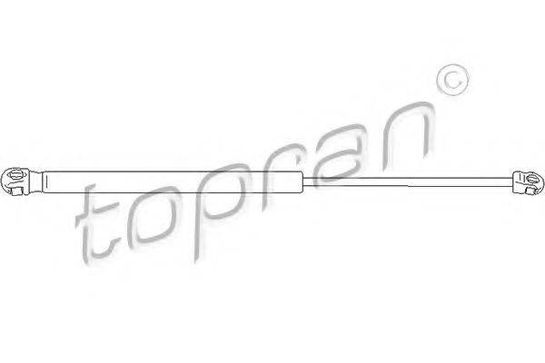 TOPRAN 112067 Газовый упор (пружина) багажника