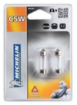 MICHELIN 008785 Лампа накаливания, фонарь освещения номерного знака