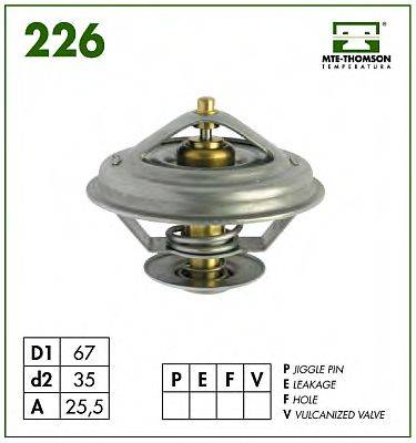 MTE-THOMSON 22687 Термостат