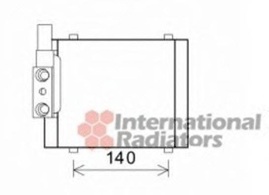 VAN WEZEL 03003325 Радиатор масляный