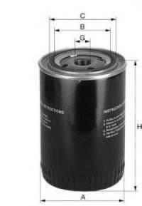 UNIFLUX FILTERS XO318 Масляный фильтр двигателя