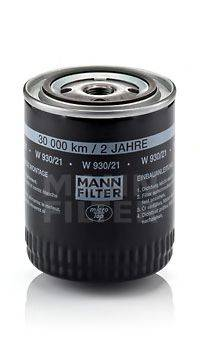 MANN-FILTER W93021 Масляный фильтр двигателя