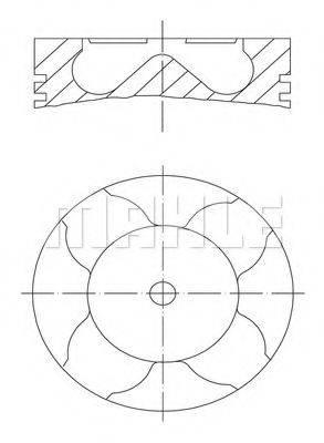 PERFECT CIRCLE 56018180 Поршень