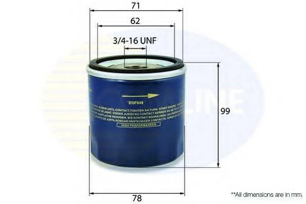 COMLINE EOF047 Масляный фильтр двигателя
