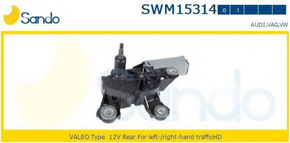 SANDO SWM153140 Моторчик стеклоочистителя