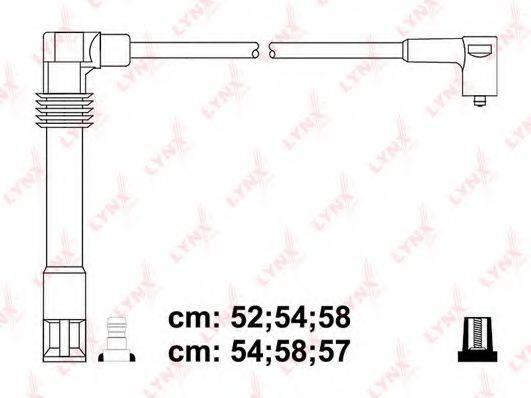 LYNXAUTO SPC8035 Провода зажигания