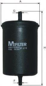 MFILTER BF674 Фильтр топливный